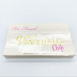 Too Faced White Chocolate Chip Palette New in Box